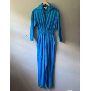 California ROC Blue Jumpsuit XS